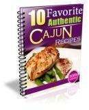 Authentic Favorite Cajun Recipes